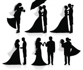 Bridal Sketch 01 vector