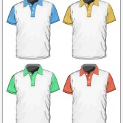 Link toMan short sleeve t-shirt working outfit vector 02