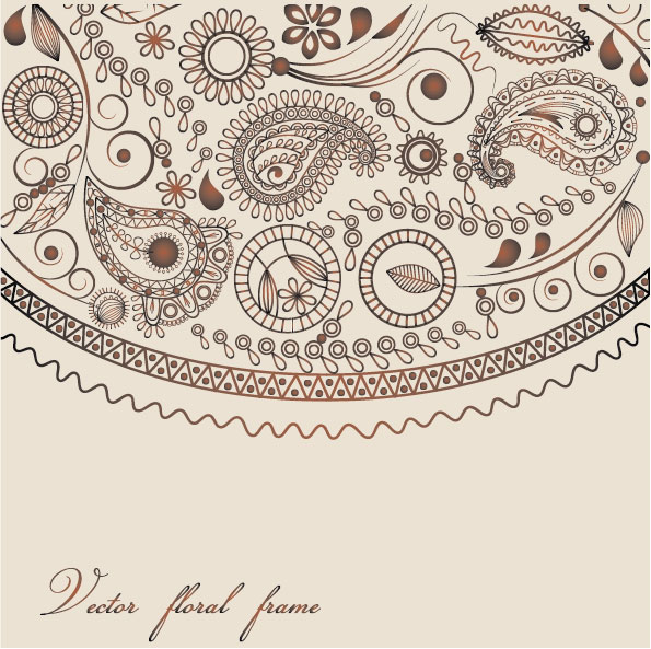 Ham Decorative pattern 06 vetcor