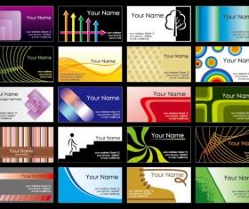 Business card Template 01 vetcor