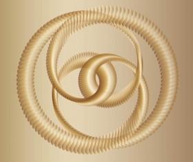 Golden Circle vector