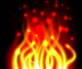 Halation Flame Vector Graphics