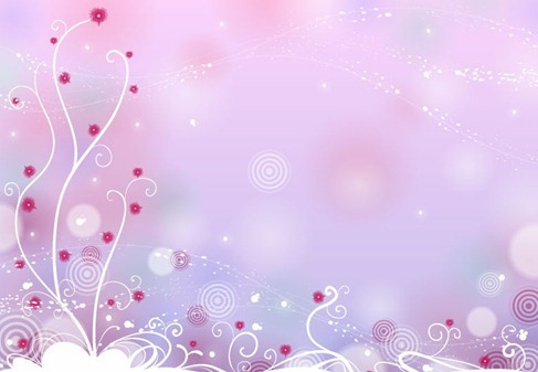 Abstract Design Floral Background Vector Free Download