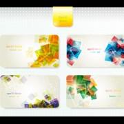 Link toDynamic brilliant card background vector 02