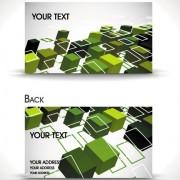 Link toDynamic brilliant card background vector 05