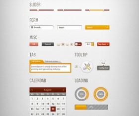 Fine Webpage element Set 01
