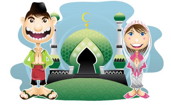 Cartoon Illustration vector 01