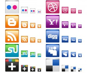 Fine Icon Design set