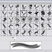 Link toDinosaurian ,horse,personage brushes set