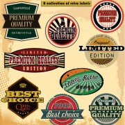 Link toEuropean style classic label vector 04