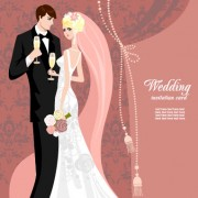 Link toWedding card background 03 vector