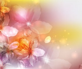 Brilliant Petal background vector 02