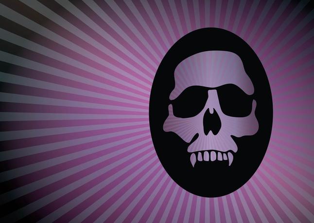 Mystic Skull vector