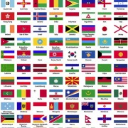 Link toFlags of the world sorted alphabetically