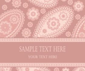 Fine decorative patterns background 03 vector