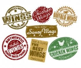 free Vector Food Label 03