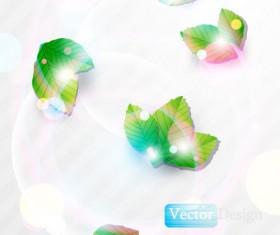 Halation leaf background 01 vector
