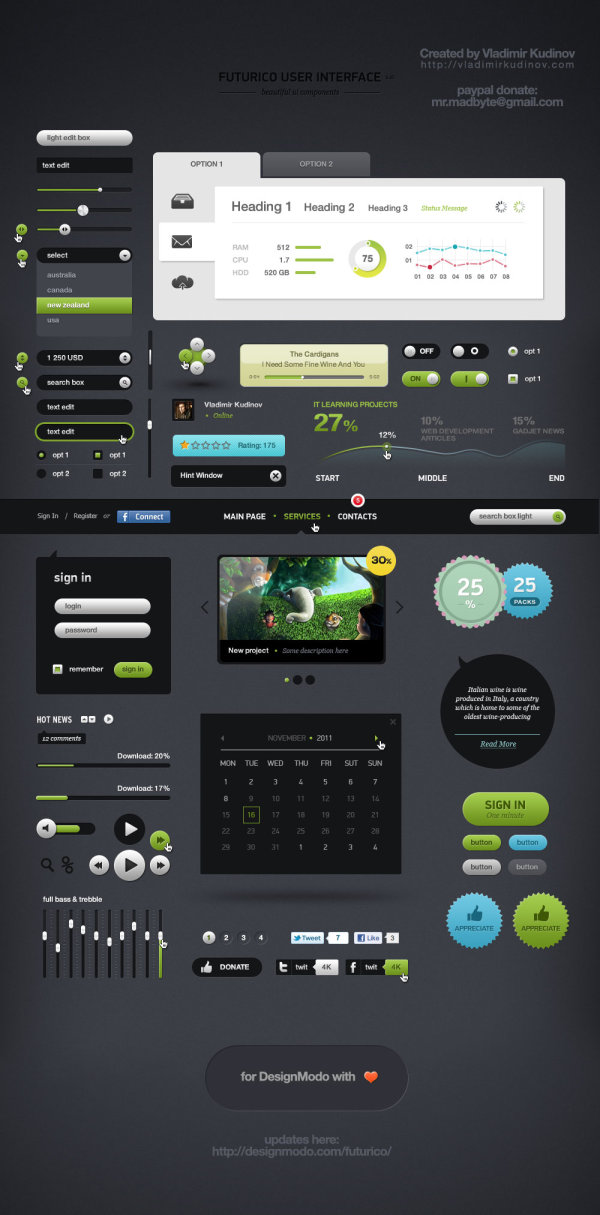 Futurico UI User Interface Pro