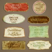 Link toEuropean style exquisite retro label 02 free vector