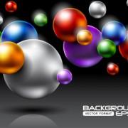 Link toFree vector brilliant halation background 04