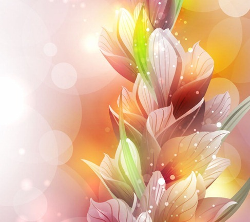 free vector spring lily flower  vector flower free download, Beautiful flower