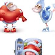 Link toHappy santas free icons