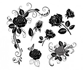 Hand draw Flower vector 02