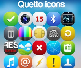 Qetto Web icons part 2