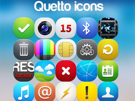 Qetto Web icons part 2