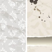Decorative pattern wallpaper background vector 01