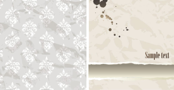Decorative pattern Wallpaper background vector 01