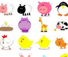 Free cute animals Icons