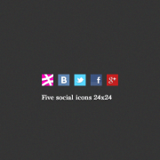 Link toFive social icons