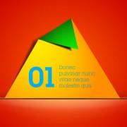 Link toFree vector color origami 04