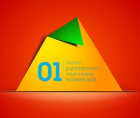 free vector color Origami 04