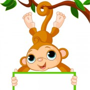 Link toCute cartoon monkey vector 02
