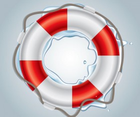 Natant circle art free vector icon 01