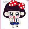 free Cute cartoon Doll vector 02