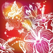 Link toAbstract flower free vector 02