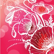 Link toAbstract flower free vector 06