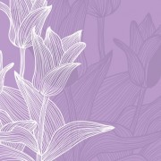 Link toLines of flowers background free vector 02