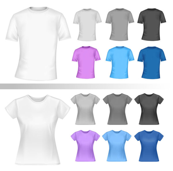 T-shirt Vector Free Download Shirt Template Free Vector