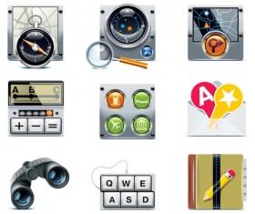 free vector Navigation icon 02