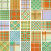 Link toFree plaid pattern vector 01