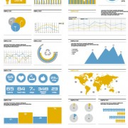 Link toBusiness information data chart vector 01