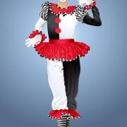 Link toFree vector cute clown illustration 04