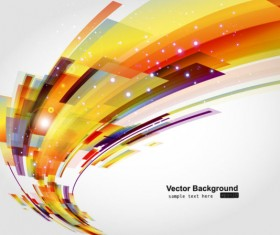 Abstract Luminous Dynamic background free vector 01