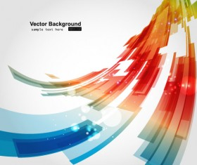 Abstract Luminous Dynamic background free vector 03