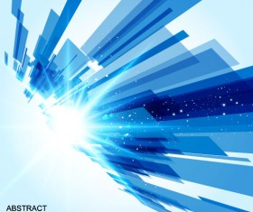 Abstract Luminous Dynamic background free vector 05