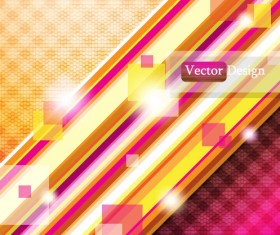 Abstract Luminous Dynamic background free vector 06